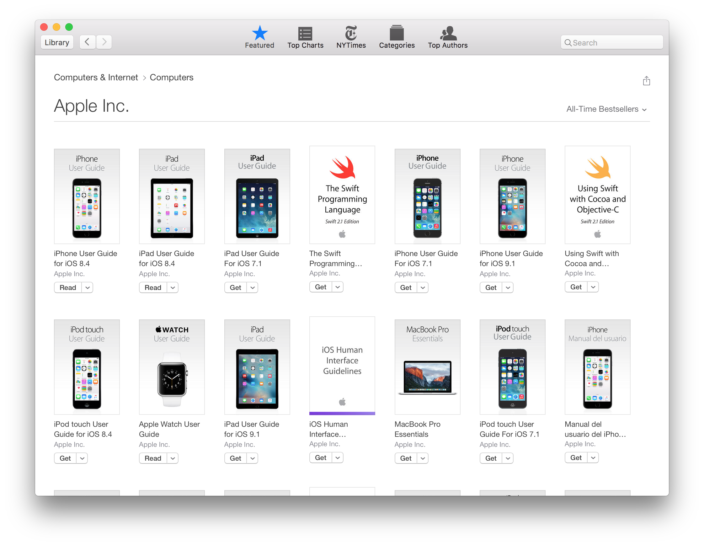 Apple's iBooks on the Mac