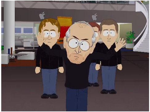 South Park Marries Apple And Human Centipede The Mac Observer