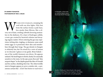 Article in National Geographic