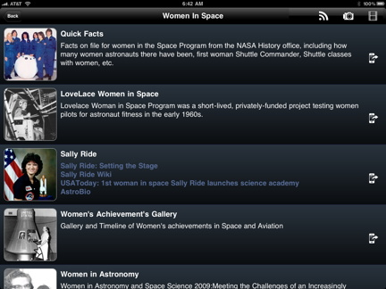 Features in Nasa App