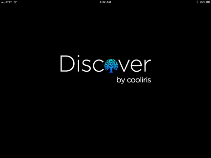 Discover cover page
