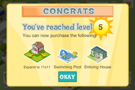Level up and get access to more stuff