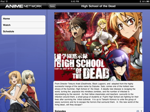 There Are New Shows And Staff Pick To Browse Through Each Show Is Lested With The Number Of Episodes A Synopsis Series In All Its An Anime