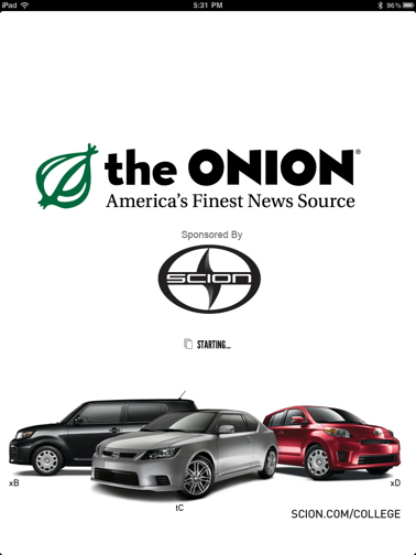 The Onion Tablet