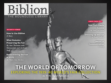 Biblion:World's Fair