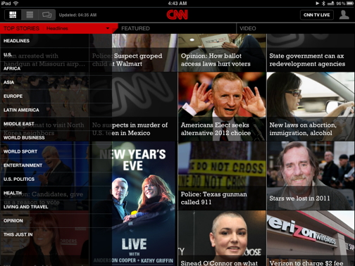 CNN for iPad