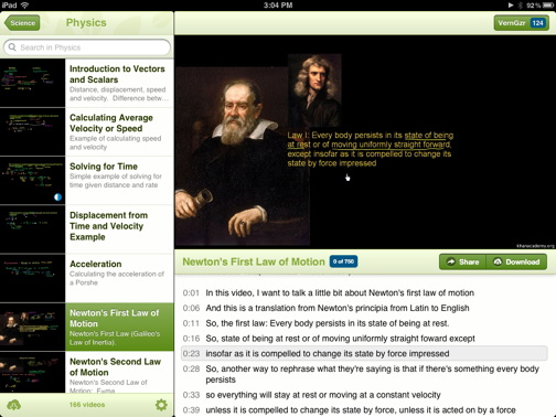 Frequently Asked Q: Khan Academy for the iPad