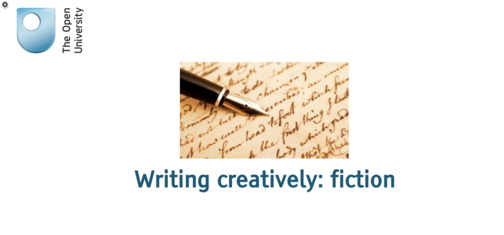 Writing Creatively: Fiction