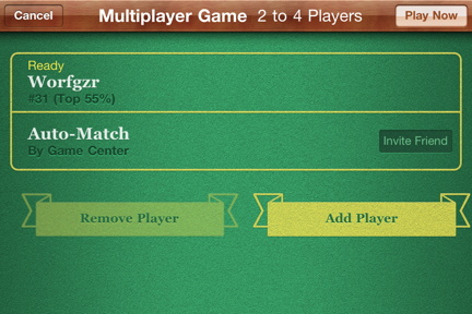 Ready to play in Game Center gather