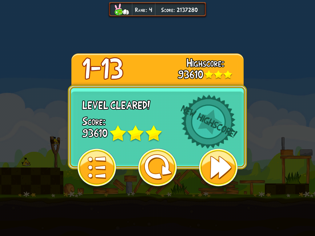 9ee9b4836 Angry Birds  How to Break into the Leaderboard Top 25 – The Mac Observer