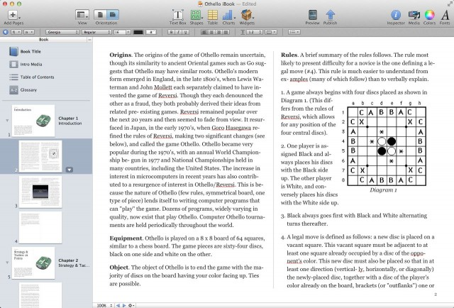 Othello Book iBook