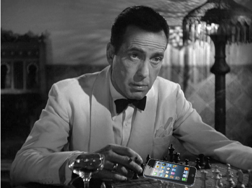 Casablanca and iPhone