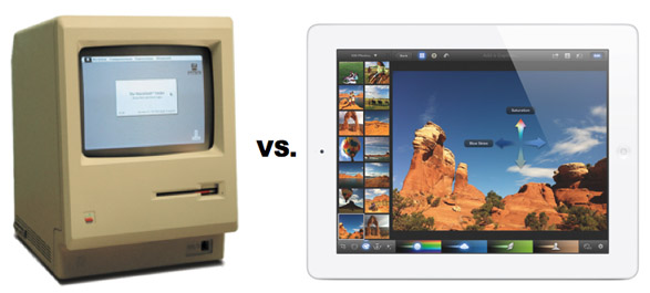 Mac vs. iPad