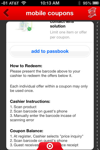 add to passbook
