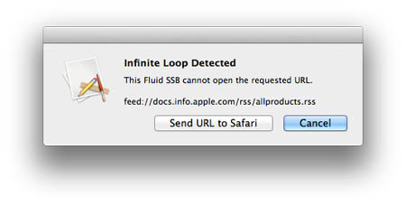 Infinite Loop error