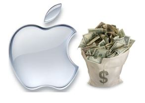 Apple in the money