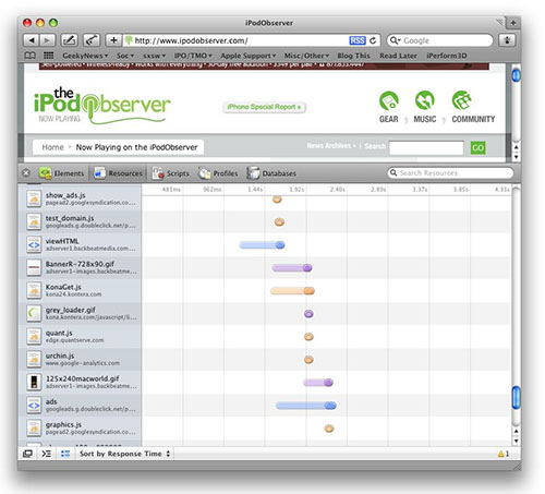 Safari 4 Web Inspector