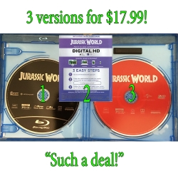 DVD, Blu-ray, and digital iTunes copy all for $17.99: That's a heck of a deal!!
