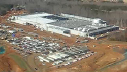 Apple's data center in Maiden, North Carolina