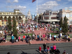 Main Street Magic Kingdom Taken with an iPhone 4S