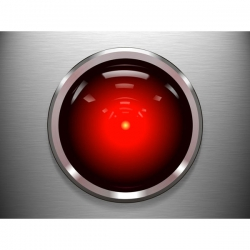 The HAL9000 computer from the movie 2001: A Space Odyssey