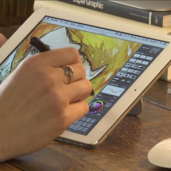 Air Stylus Turns Your Ipad Into A Graphics Tablet For The
