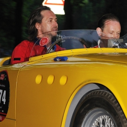 Marc Newson, Race Car Driver