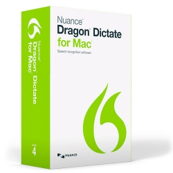 Dragon Dictate 4 for Mac: $99.99