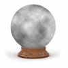 Cloudy Apple Crystal Ball