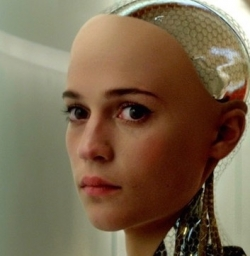 Ava of  the movie Ex Machina