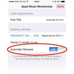How to disable Apple Music auto renewal on your iPhone