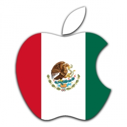 apple logo mexican flag