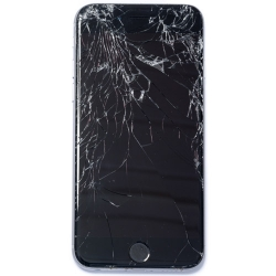 Cracked iPhone 6