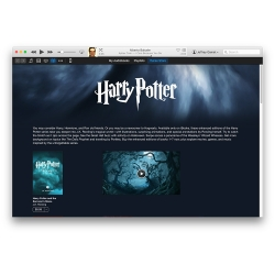 Harry Potter is on the iBook Store and enhanced