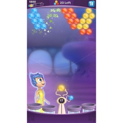 Disney's Inside Out game on the iPhone