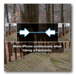 <p>Apple Panorama Camera Switch Directions</p>