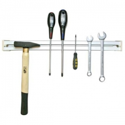 A tool bar commonly found in a home shop or tool shed.