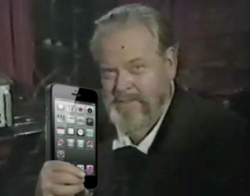 Orson Welles - We Will Sell No iPhone Before Its Time