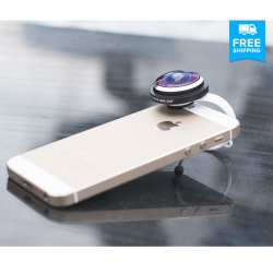 Super Fisheye Clip-On Lens: Get 235° Of Dynamic Mobile Photography