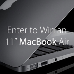 Last Chance to Register for MacBook Air Giveaway