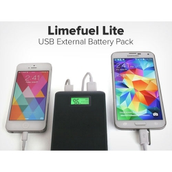 Limefuel Lite USB Battery Pack for Dual Charging: $34.99