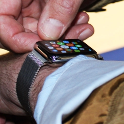 hands on with Apple Watch