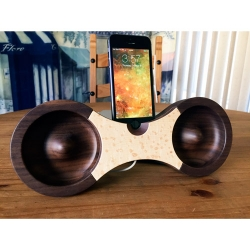 'Eight' Wooden Acoustic Amplifier Looks Amazing, Sounds OK