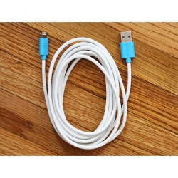The 10ft MFi-Certified iOS Lightning Cable: $18.99