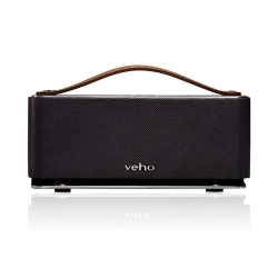 Veho Retro Leather Bluetooth Speaker: $65
