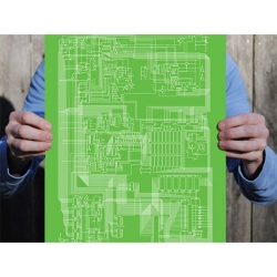 Apple II Schematic Print: $34.99