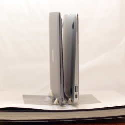 MacBook (left) is 24% thinner than MacBook Air (right)