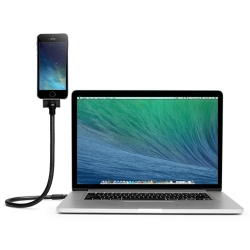 Flexible Gooseneck MFi-Certified Lightning Cable