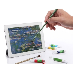 Monet Stylus being used on an iPad