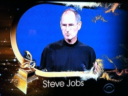 Steve Jobs' Trustees Award at the Grammys